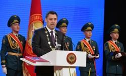 مراسم تحلیف رئیس جمهور قرقیزستان برگزار شد