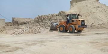 رفع تصرف ۴۶ هزار متر مربع از اراضی ملی و دولتی در جزیره قشم