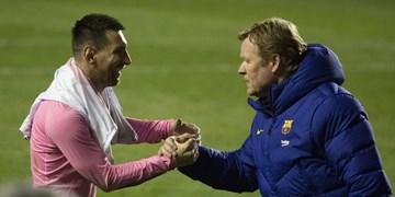 کومان: بارسلونا بزرگترین باشگاه دنیاست /ما میتوانیم به فینال صعود کنیم
