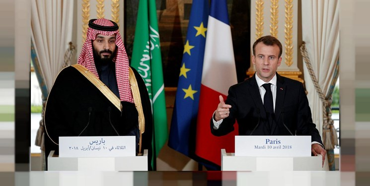 ماکرون: عربستان باید جزئی از مذاکره برای توافق با ایران باشد