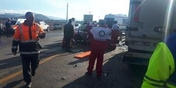 سه کشته و یک زخمی بر اثر تصادف در محور داراب-بندرعباس