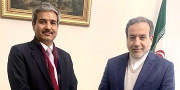 دیدار دیپلمات هندی با عراقچی