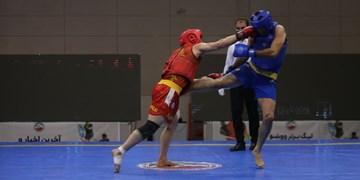 رقابت ووشوکاران قم در مسابقات آزاد ساندای کشور