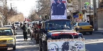 راهپیمایی خودرویی و موتوری۲۲ بهمن در مسیرهای ۱۲ گانه تهران