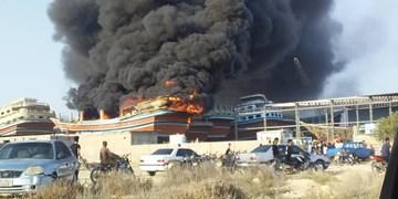 خسارت ۴۵ میلیاردی آتشسوزی قشم/ کارگاه بیمه است