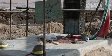 آغاز مرحله دوم احداث مقبره شهدای گمنام پارک کوهستان سمنان