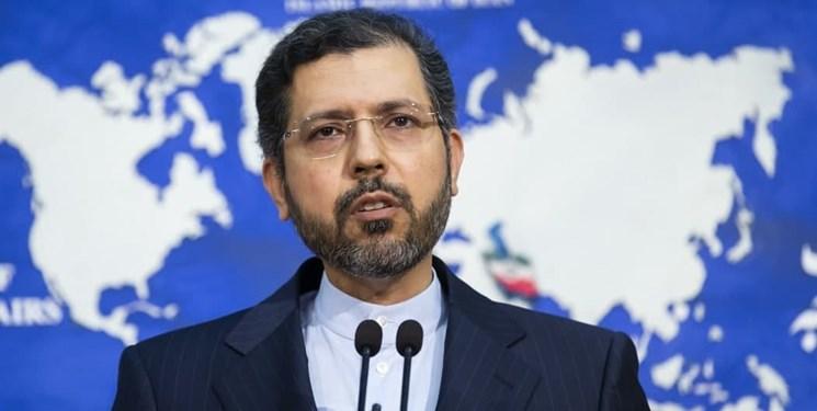 خطیبزاده: گزارشی از وارد آمدن صدمه به اتباع ایرانی در آتش سوزی اسلام قلعه دریافت نکردهایم