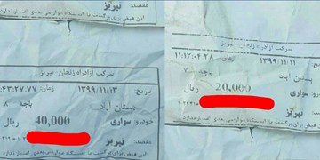 افزایش 100 درصدی عوارض اتوبان بستان آباد- تبریز