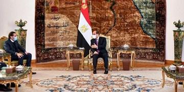 دیدار «سعد الحریری» با رئیس جمهور مصر