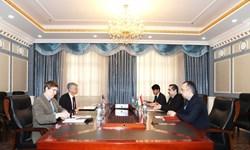 توسعه روابط محور دیدار مقام تاجیک و سفیر آمریکا در «دوشنبه»