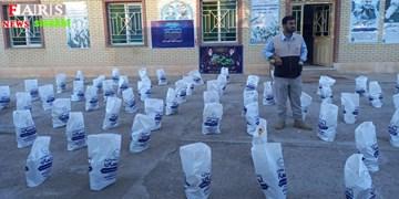 توزیع ۱۵۰ بسته کمک معیشتی در بخش پاتاوه به مناسبت دهه فجر+تصاویر