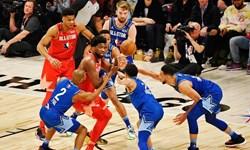 لیگ بسکتبال NBA  بازیکنان شروع کننده بازی آل استار مشخص شدند+عکس
