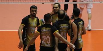 لیگ برتر والیبال| برد قاطع سپاهان مقابل شهرداری قزوین/ اصفهانیها در صدر ماندند
