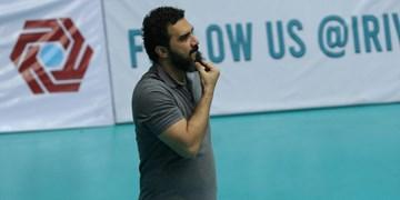 لیگ برتر والیبال  تندروان: اهالی والیبال را راضی کردیم/ باید بازیکنانم را متقاعد کنم