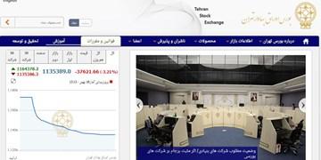 کاهش ۳۷ هزار واحدی شاخص بورس تهران/ ارزش معاملات ۲ بازار ۱۲ هزار میلیارد تومان شد
