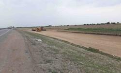 آغاز پروژه چهارخطه کردن 6 کیلومتر از جاده دزفول - شوشتر
