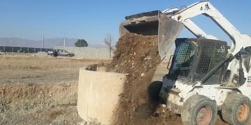 انسداد ۱۲ حلقه چاه غیرمجاز در شهریار