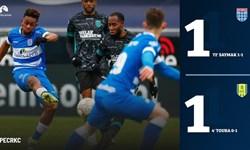 لیگ فوتبال هلند|تساوی زووله در حضور 25 دقیقهای قوچاننژاد