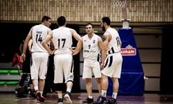 شکست غیرمنتظره بسکتبالیستهای قم در گام نخست پلیآف