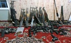 انهدام باند قاچاق با کشف 9 قبضه سلاح جنگی در«دهلران»