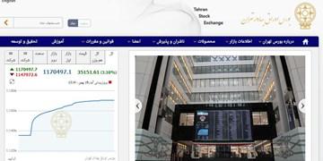 رشد 35 هزار واحدی شاخص بورس تهران/ ارزش معاملات دو بازار به 13 هزار میلیارد تومان نزدیک شد
