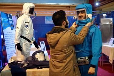 نمایشگاه و جشنواره جهادگران علم و فناوری بسیج در مجتمع فرهنگی ورزشی پنجم آذر