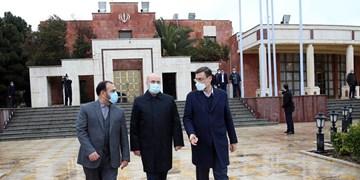 رئیس مجلس دقایقی قبل ایران را به مقصد روسیه ترک کرد