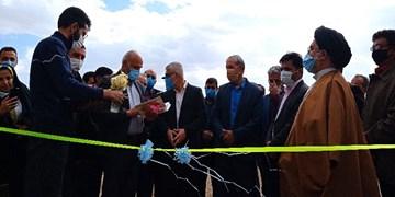 افتتاح چند پروژههای آموزشی و کشاورزی به مناسبت دهه فجر در ابرکوه