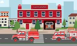 فیلم| الحاق سه خودروی جدید نردبان و پلتفرم به ناوگان آتشنشانی رشت