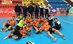 استارت فوتسالیستهای نوجوان قم برای قهرمانی ایران