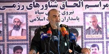 سرلشکر سلامی: تحمیل اراده به دشمن جز با توسعه قدرت ممکن نیست/ هشدار به برخی رژیمهای مرتجع منطقه