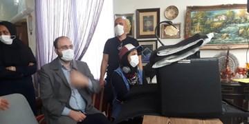 بازدید مدیر شبکه سه از پشت صحنه سریال نوروزی «بوتیمار»