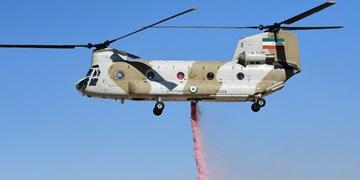 الحاق بالگردهای شینوک سوخترسان و آتشنشان به ناوگان پروازی هوانیروز