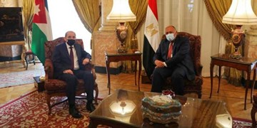 دیدار وزرای خارجه مصر و اردن همزمان با نشست گروههای فلسطینی در قاهره