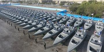 تقویت ویژه نیروی دریایی سپاه در سال ۹۹/ از تحویل پُرتعداد پهپاد و قایق تندرو تا ناو اقیانوسپیما