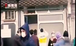 فیلم| عدم رعایت پروتکل بهداشتی در جلوی راهور رودسر