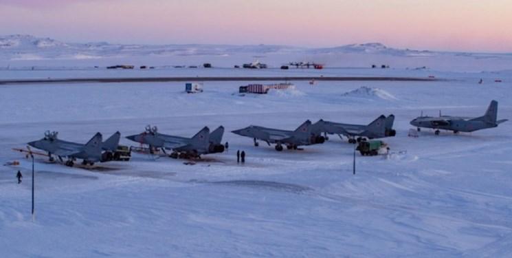 آماده باش جنگندههای «میگ-31 روسیه» در قطب شمال