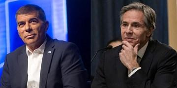 گفتوگوی تلفنی وزیر خارجه رژیم صهیونیستی با همتای آمریکایی