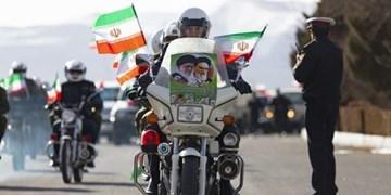 راهپیمایی خودرویی و موتوری ۲۲ بهمن در لواسان