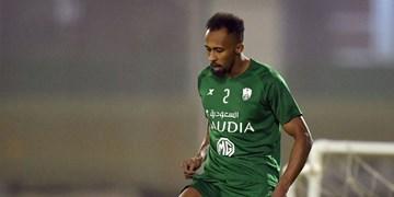 اقدام  حریف استقلال برای تمدید قرارداد مدافع تیم ملی عربستان