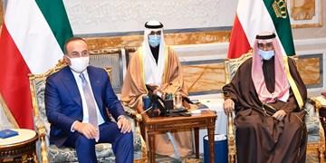 وزیر خارجه ترکیه با امیر کویت دیدار کرد