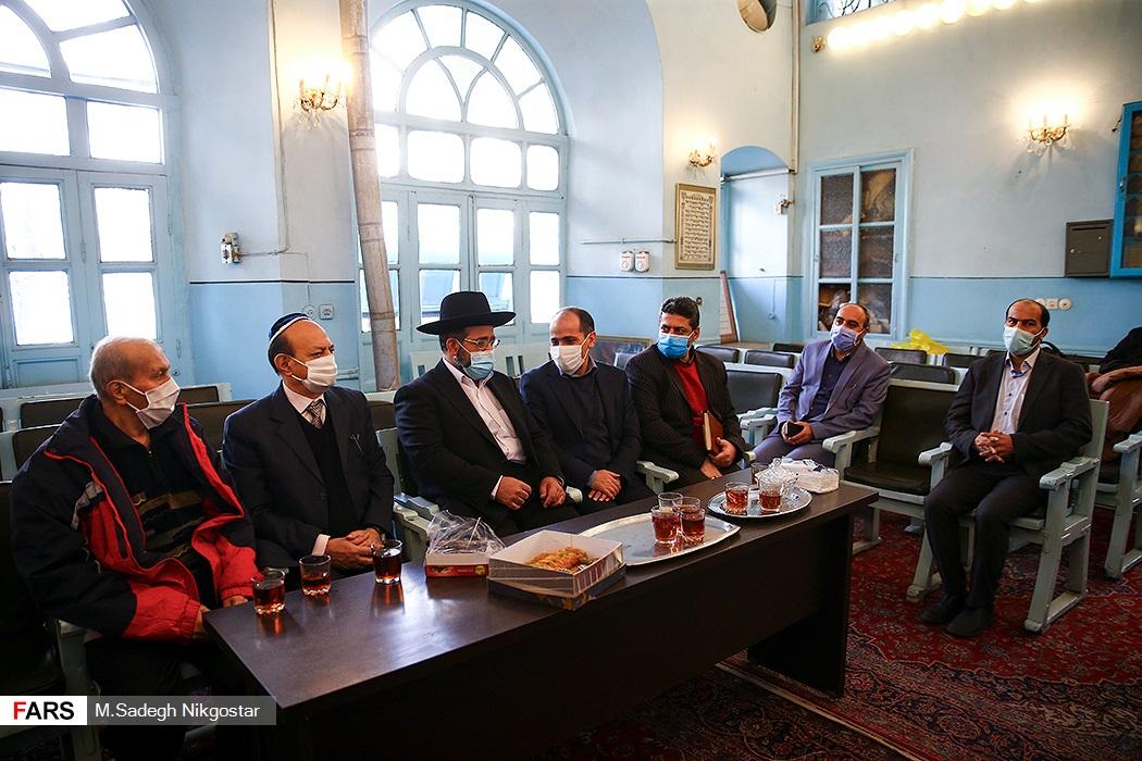 جشن صبر و شکر پیروان ادیان توحیدی در کنیسه حییم