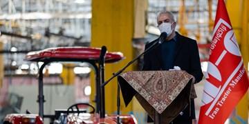 سردار تقیزاده:تولید داخلی کشور باید روز به روز رونق یابد/ تراکتورسازی ثابت کرد که تحریم بیاثر است
