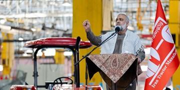 سردار نقدی: «تراکتورسازی» در حال فریاد زدن مرگ بر آمریکاست/ مقاومت ۴۲ ساله ملت ایران ناشی از