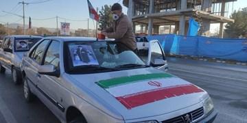 آغاز راهپیمایی خودرویی و موتوری ۲۲ بهمن در پردیس