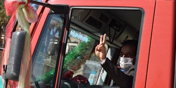 فجر ۴۲  برگزاری رژه خودرویی و موتوری در دو نقطه شهرستان خفر