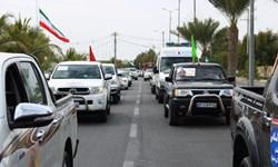 رژه موتوری و خودرویی در زابل