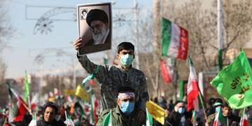 فجر ۴۲| جشن و سرور مردم استان اردبیل در جشن انقلاب/ کرونا هم حریف خروش مردم نشد