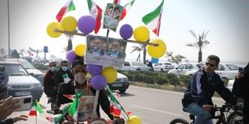 راهپیمایی 22 بهمن در حاشیه خلیجفارس