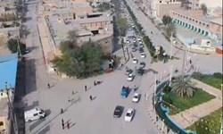 فیلم | تصاویری هوایی از جشن ۲۲ بهمن در شادگان